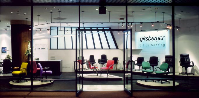 Girsberger Showroom Pacific Design Center By Mike Roy